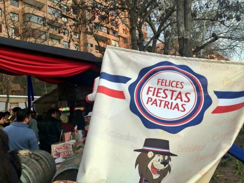 Santiago: Fiestas Pátrias – a festa da independência chilena.
